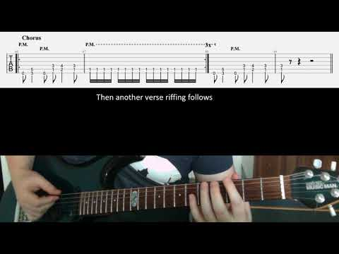 Metallica Fight Fire With Fire tab & lesson (the riffs)