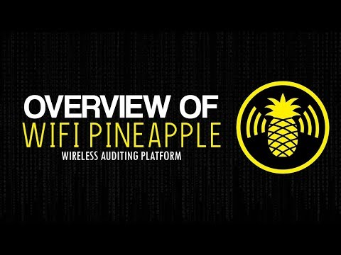WI-FI PINEAPPLE OVERVIEW | ROUGE ACCESS POINT | WIRELESS HACKING DEVICE | MITM ATTACKS (Smiley)