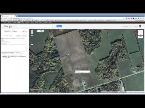 How to Map out your fields in Google Maps
