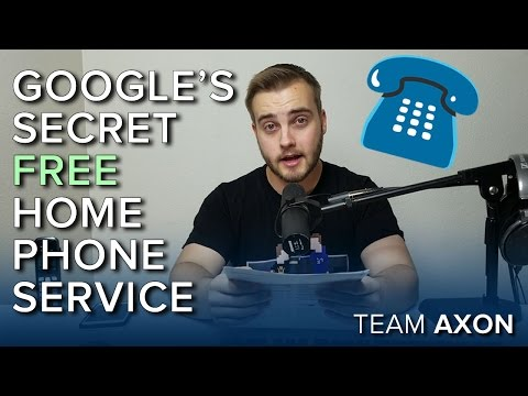 STOP PAYING FOR YOUR HOME PHONE – Let Google do it for Free!