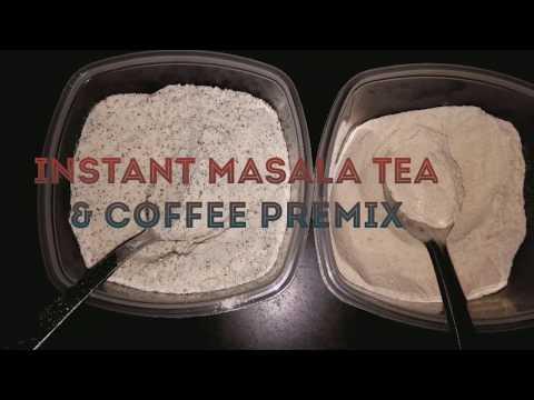 INSTANT MASALA TEA / COFFEE PREMIX