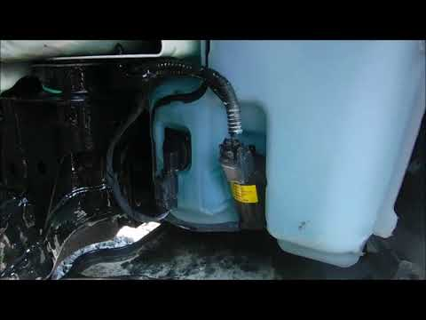 2016 Ford Fusion Windsheaild Washer Container Location
