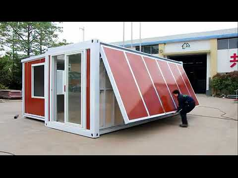 China Expandable container house ---10 minutes one house!