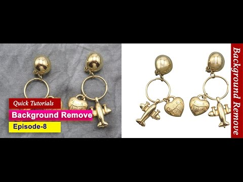 8. How to remove background of jewelry I Adobe photoshop cc tutorial 2016