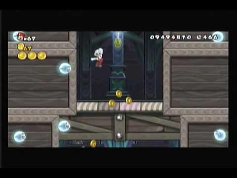 New Super Mario Bros. Wii Walkthrough - Dododo! You Unlocked Sonic, Tails, Wario, and Waluigi! (79)