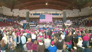 President Trump holds rally in Kentucky