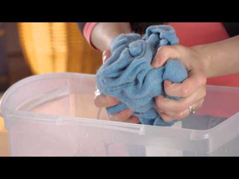 How to Wash Knitted Clothing Without Flattening It : Felt, Wool, & Other Fabric Care