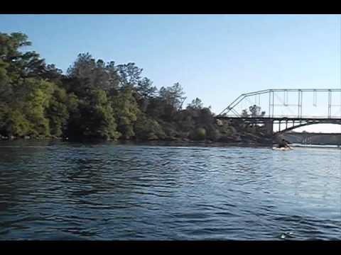 Lake Natoma Folsom paddle at the 3 Bridges
