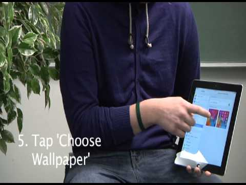 How to Set the Wallpaper on your iPad