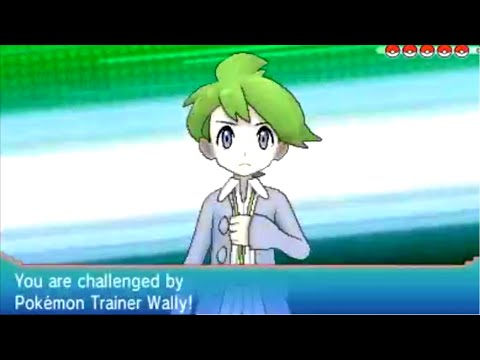 Pokémon Omega Ruby: Victory Road Wally Battle