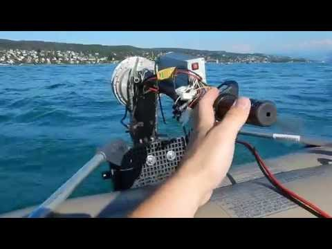 DIY Electric Outboard  - final tests
