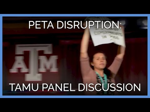 Disruption of Texas A&M Panel Discussion