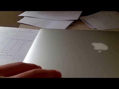 How to cut a paper using MacBook Air