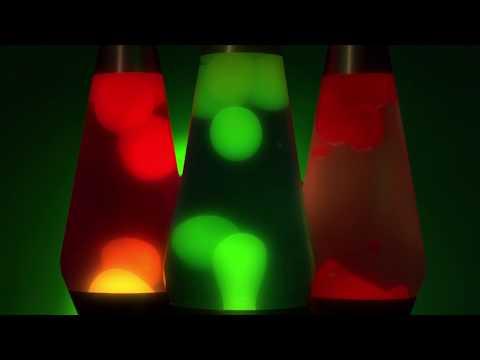 6 Hour Lava Lamp Video Screensaver - HD 1080P 🕶️
