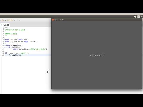 Install Kivy (Python Library) in Ubuntu 14.04