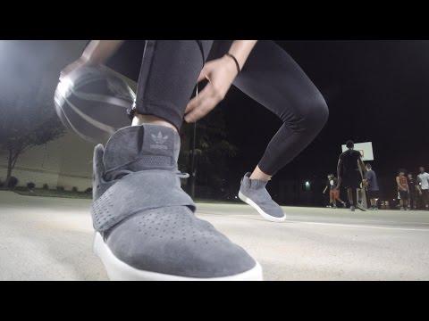 Adidas Tubular Invader Strap | On Feet