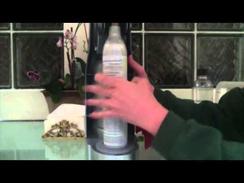 How to Install the Co2 Canister in the Sodastream Machine/How to Use the Sodastream Machine