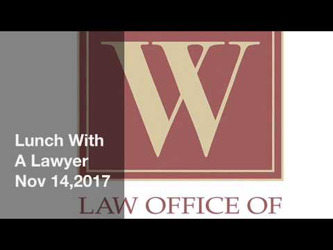Lunch With A Lawyer - Nov 14, 2017