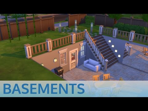 The Sims 4 Basement Tutorial