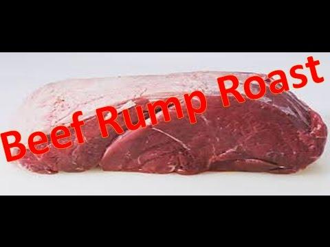 Beef Rump Roast - how to make Beef Braised Rump Roast