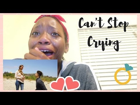 REACTION VIDEO TO THE BEST PROPOSAL OF ALL TIME ( couldn't stop crying )