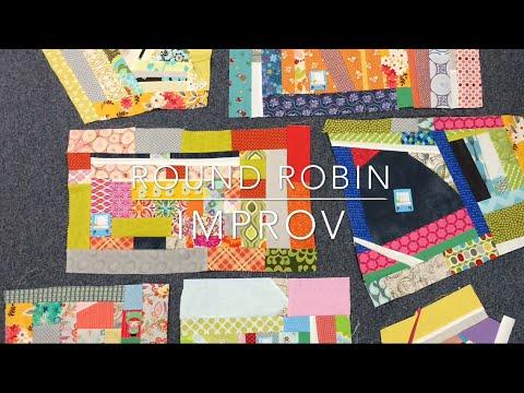 Improv Round Robin - Boise Modern Quilt Guild