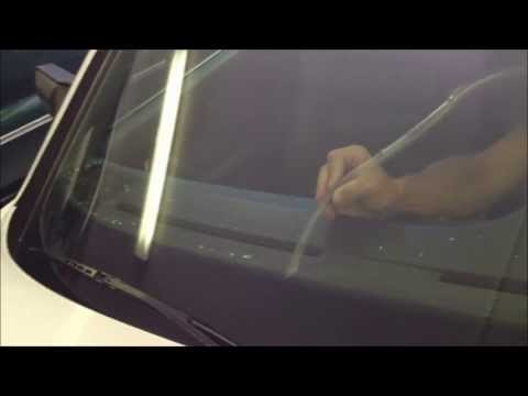 Shattered car window easy clean up with the VaccUFlex® vacuum attachment kit