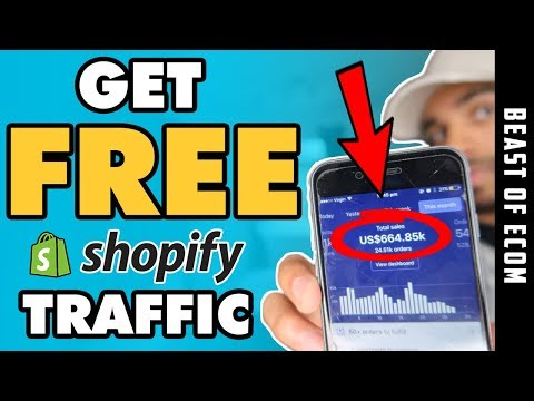 Get 100% FREE Traffic To Your Dropshipping SHOPIFY Store | NO Money NEEDED