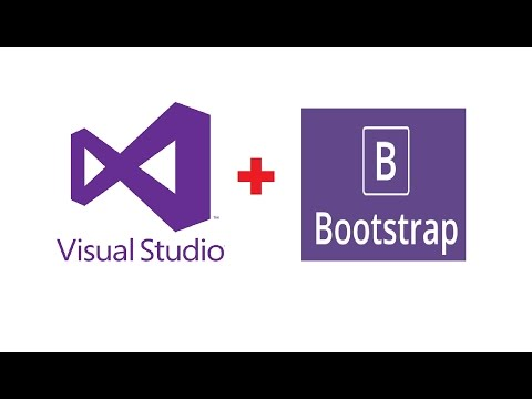 How to Create Twitter Bootstrap Project in Visual Studio 2015