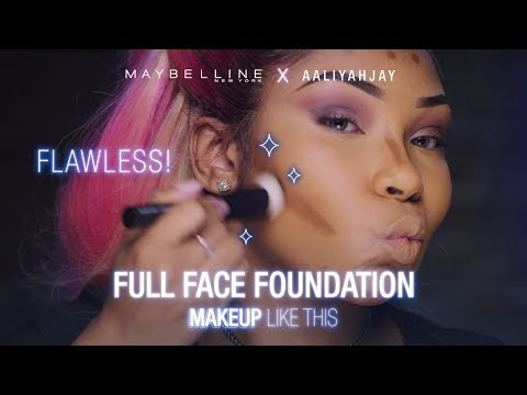 The MOST Full Coverage Foundation Routine Tutorial ft. AaliyahJay