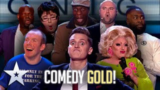 The COMEDY GOLD of BGT!   Britain's Got Talent