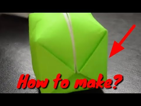 How to make paper ballon step by step that flows ups