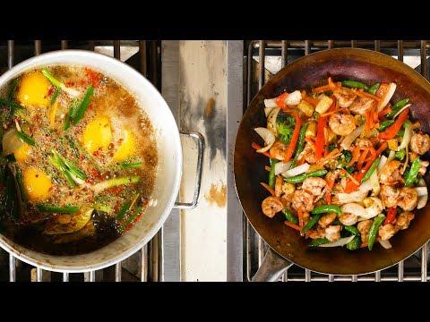 Asian Shrimp Boil & Vegetable Stir-Fry | Recipe on the Blaze Power Burner | BBQGuys.com