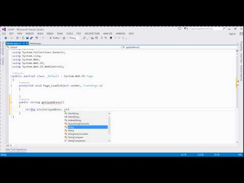 How to get ip address in asp.net c#