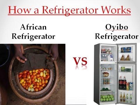 African Refrigerator VS Oyibo Refrigerator