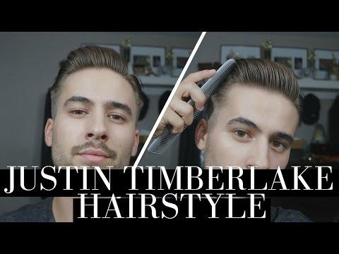Justin Timberlake Hairstyle | Classic Gentleman Hairstyle | Mens Hair 2016