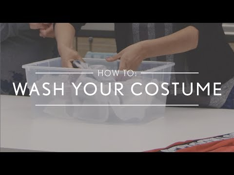 How to Wash Your Dance Costume