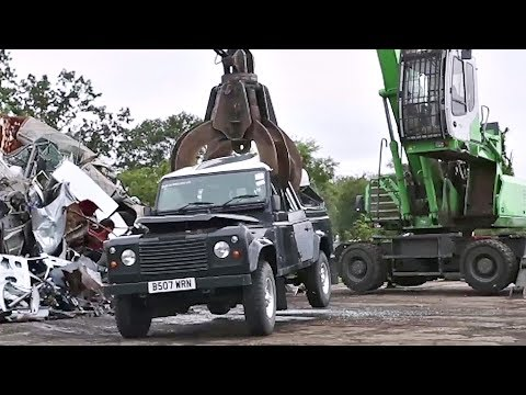 Land Rover Defender Seized And Crushed By CBP