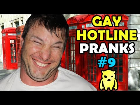 Gay Hotline Prank Compilation #9 - Ownage Pranks