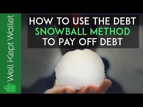 How to Use the Debt Snowball Method to Pay Off Debt (Free Spreadsheet Form!)