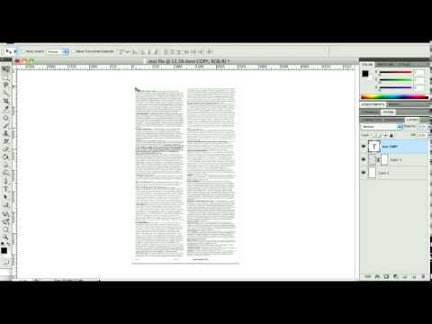 Saving PDF's from Photoshop File Size Issue