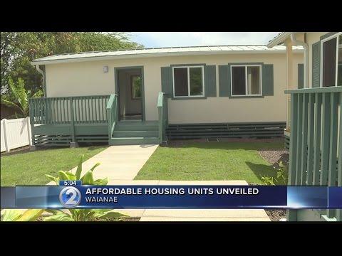 Affordable housing units aim to help Waianae's homeless community