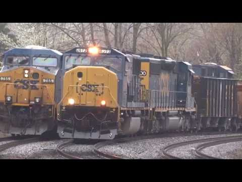 Lots Of CSX Trains In St Denis & Relay, MD