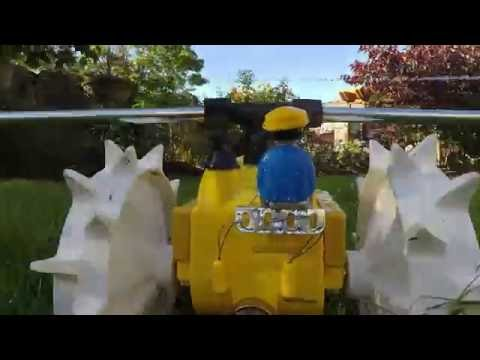 When GoPro, Duplo and lawn-care collide