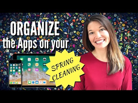 Spring Clean and Organize Apps on Your iPad/iPhone