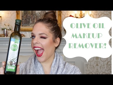 REMOVE MAKEUP? How YOU can remove ALL YOUR Makeup With Olive Oil! Oil Cleansing