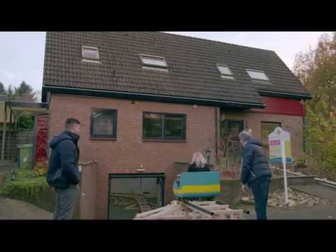 Rollercoaster built inside house for Dutch advert
