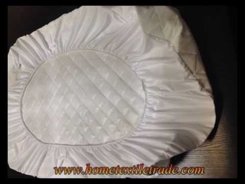 Luxury Terry Waterproof Bed Cover With Elastic