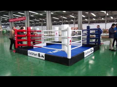 Innovative Boxing Ring Assembly and Disassembly