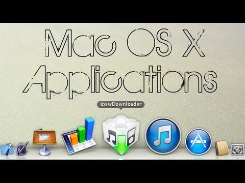 Mac OS X | ipswDownloader (ipsw Store! Download iPhone, iPad, iPod Firmwares for free!)